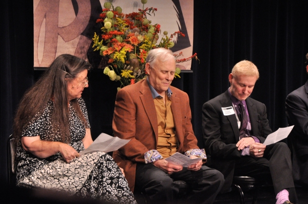 Fran Smyth, Frank Skillern and Richard Weinberg Photo