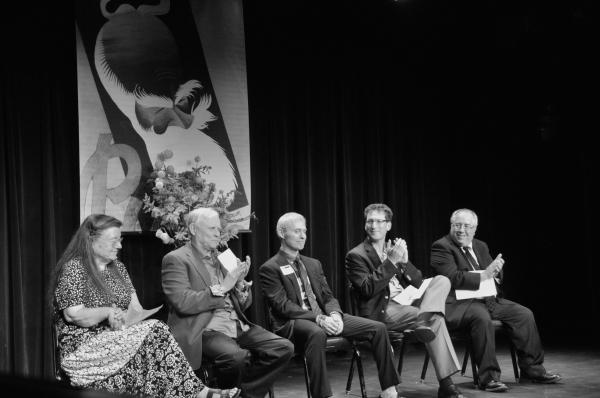Fran Smyth Frank Skillern, Richard Weinberg, Andrew M. Flescher and Richard Terrano Photo