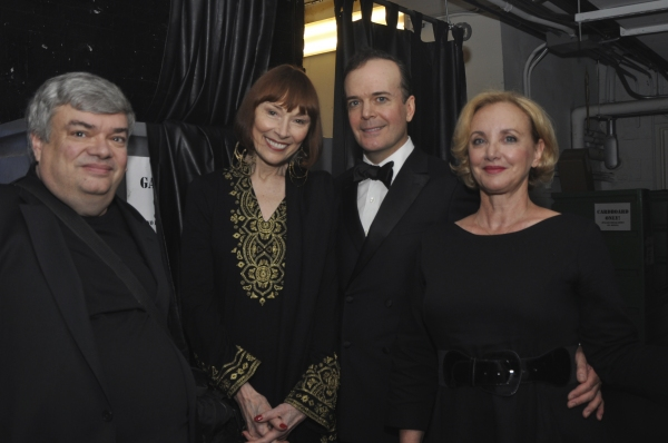 Terry Teachout, Karen Akers, Jefferson Mays and J. Smith Cameron