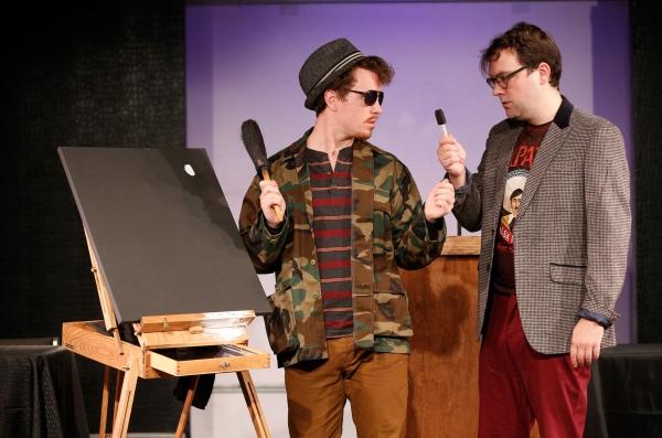 SCOTT WATSON as Jean-Paul Georges-Ringeau and WINSTON SHAW as Count Hans Undâ₠Photo