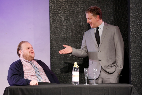 BENJAMIN DeCAMP COLE as Arthur Treacle and DANIEL DAMIANO as Daniel Pinkerton Photo