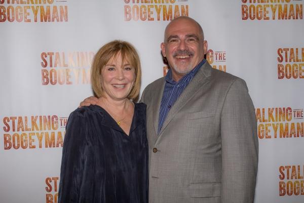 Roxanne Hart and John Herrera