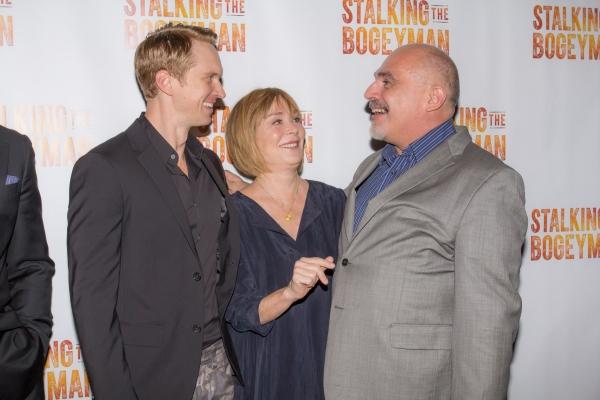 Roderick Hill, Roxanne Hart and John Herrera