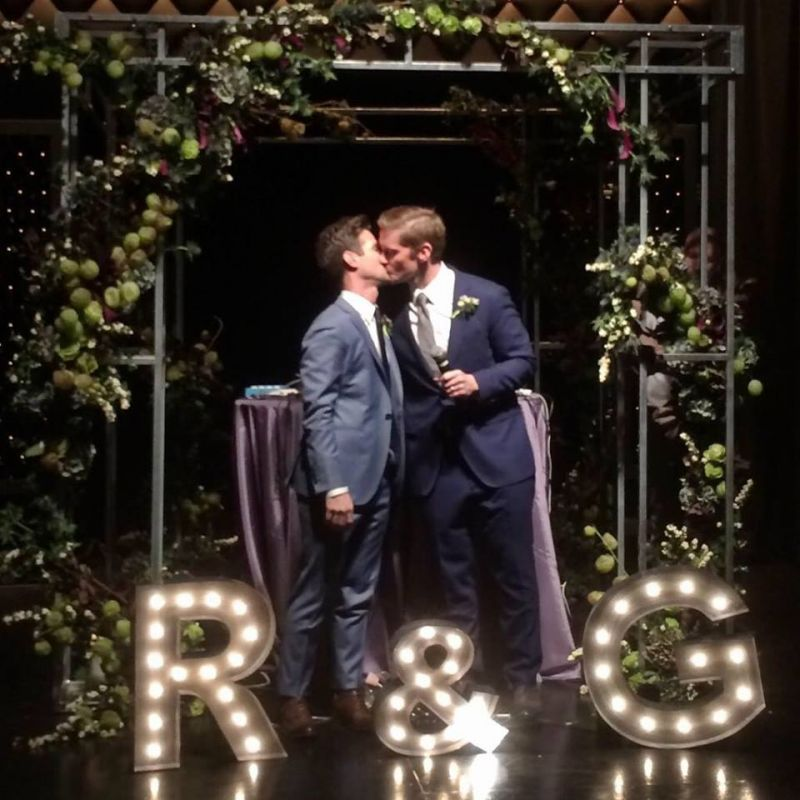 Tony Nominee Rory O Malley Amp Gerold Schroeder Tie The Knot