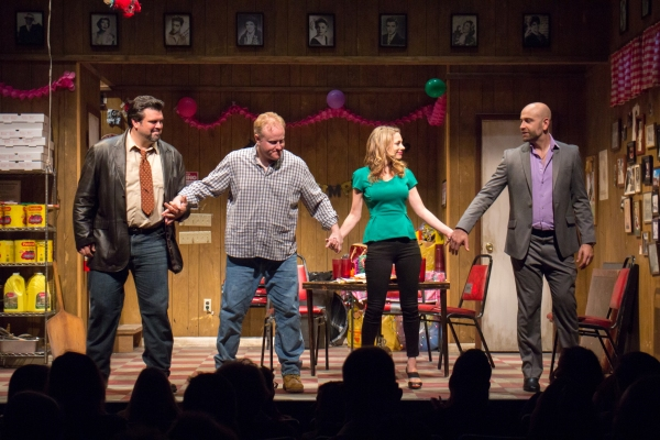 Photo Coverage: Inside Opening Night of MONEY GRUBBIN' WHORES at Theatre Row