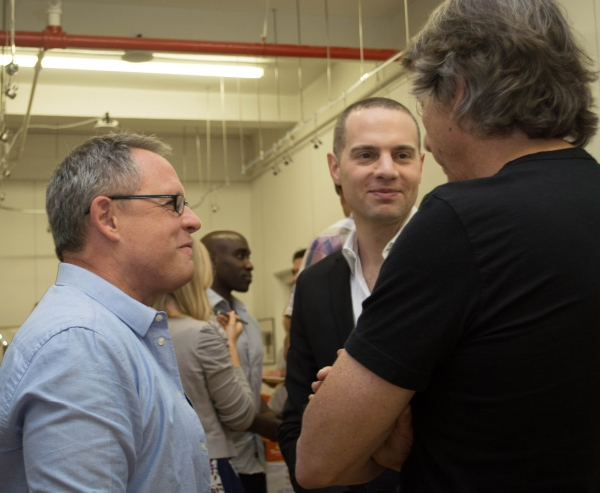 Bill Condon, Jordan Roth, and David Rockwell