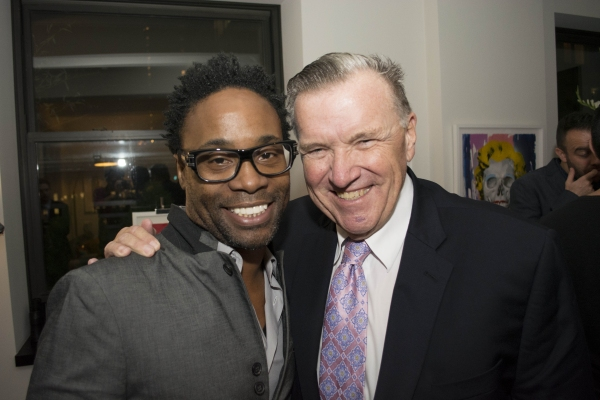 Billy Porter and David Mixner