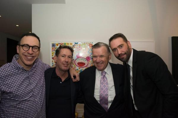 Daniel Nardicio, Tim Ranney, David Mixner, Monte Lapka