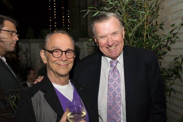 Joel Grey and David Mixner