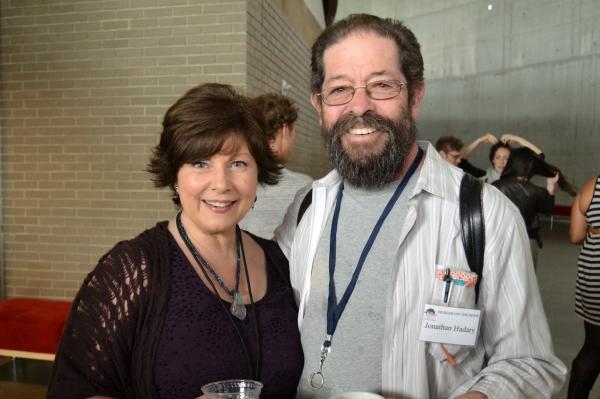 Ann Arvia (Golde) and Jonathan Hadary (Tevye)