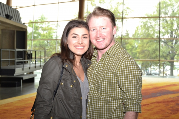 Maria Rizzo (Chava) and Kurt Boehm (Fyedke)