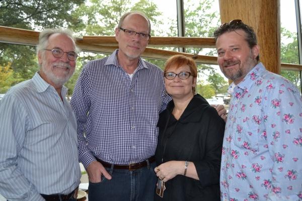 General Manager Ian Pool, Executive Producer Edgar Dobie, director Anita Maynard-Losh Photo