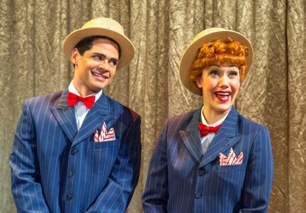 Euriamis Losada (Ricky Ricardo) and Thea Brooks (Lucy Ricardo) Photo