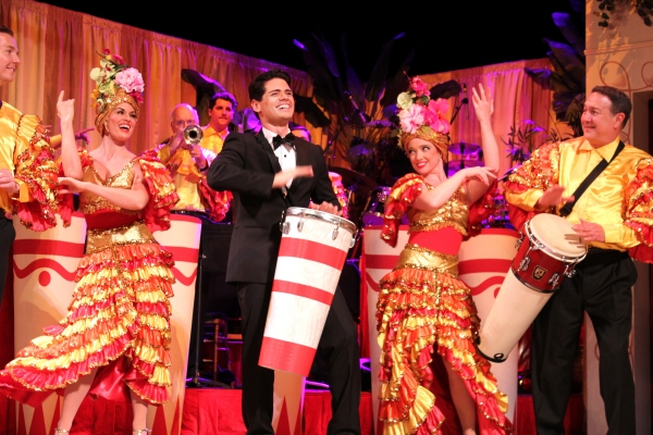 Euriamis Losada (Ricky Ricardo) and the company of the national tour of I LOVE LUCY LIVE ON STAGE