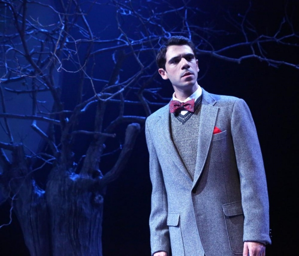 Nicholas Urda stars as the poet-playwright Federico Garcia Lorca Photo