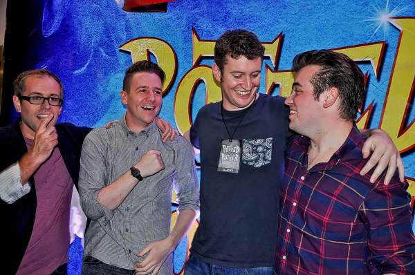 Jeffrey Turner, Benjamin Stratton, Daniel Clarkson, James Percy Photo
