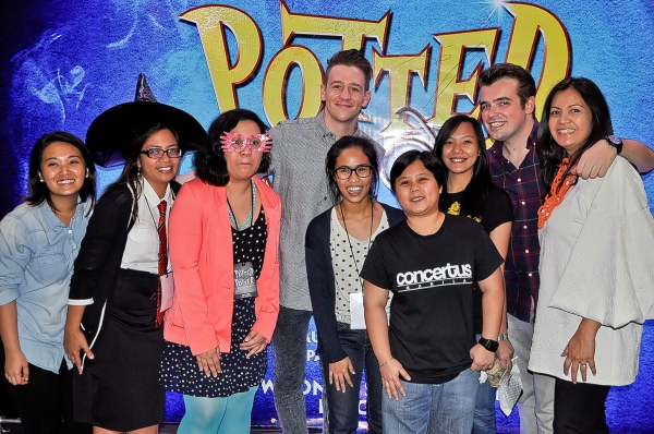 Benjamin Stratton, James Percy, Anna Yulo, Bambi Verzo, Concertus Manila staff