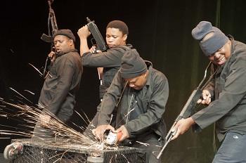 Don Mosenye, Zenzo Nqobe, Tshallo  Chokwe, Don Mosenye in Silent Voice, pic by Sanmari Marais