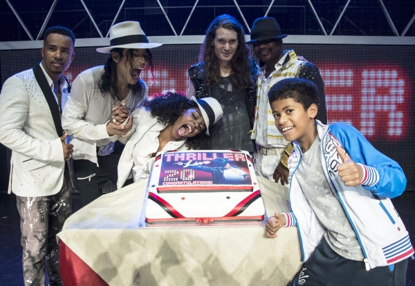 Photo Flash: THRILLER LIVE Becomes West End's 20th Longest-Running Show!
