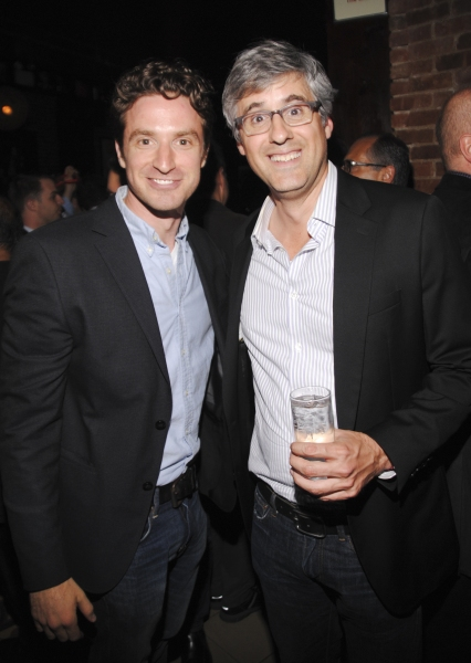 Nate Smith and Mo Rocca