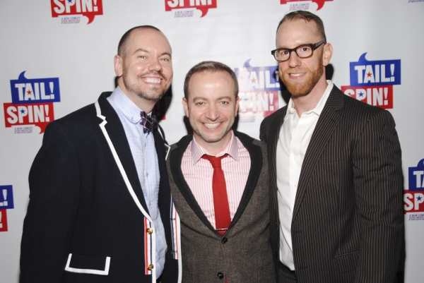 Director Dan Knechtges, PLaywright Mario Correa, Producer Billy Zavelson