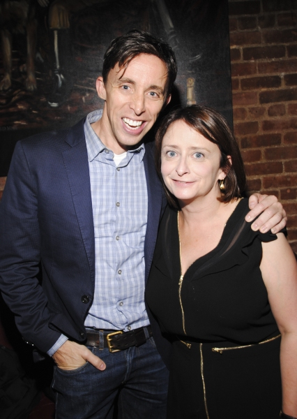 Kevin Cahoon and Rachel DRatch