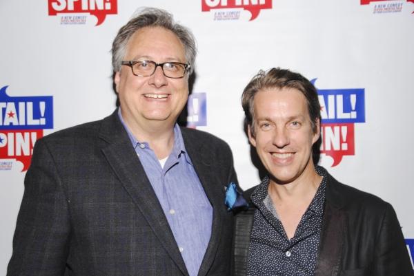 Douglas Carter Beane and Lewis Flinn Photo