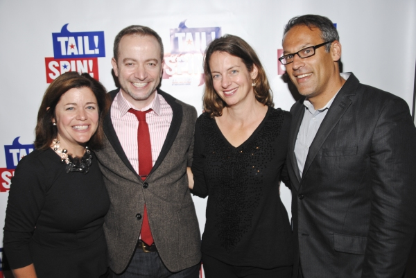 NBC4 President Jackie Bradford, Playwright Mario Correa, Rachel Landau and Matt Glassman