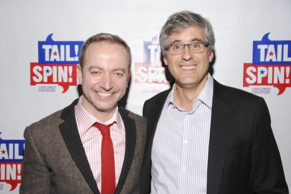 Playwright Mario Correa and Mo Rocca