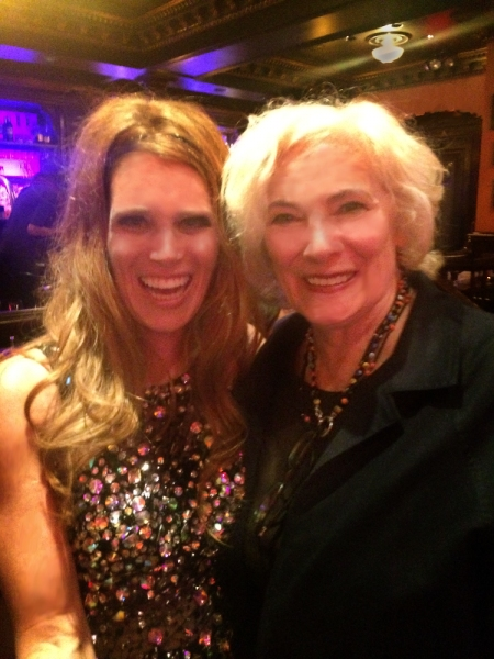 Isabel Rose and Betty Buckley