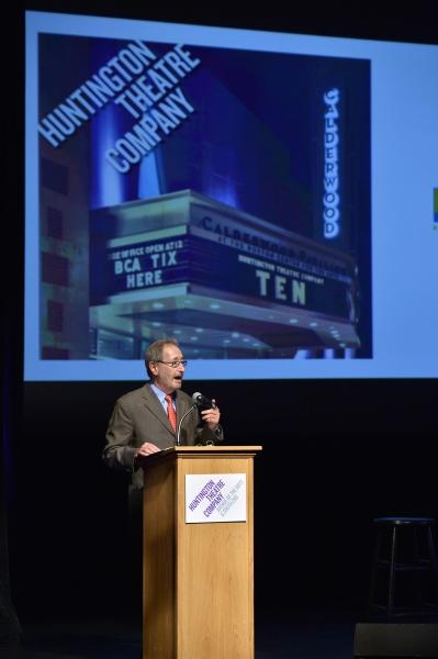 Huntington Theatre Company Managing Director Michael Maso