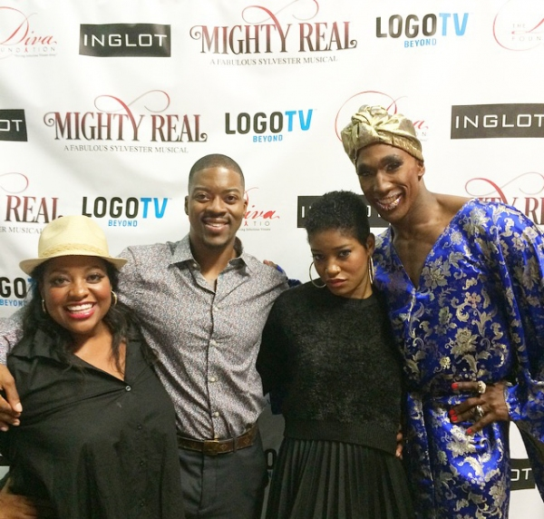 Sherri Shepherd, Kendrell Bowman (co-producer, co-director an costume designer) Keke Palmer and the show''s star Anthony Wayne.
