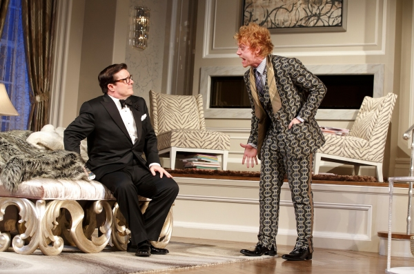 Nathan Lane and Rupert Grint