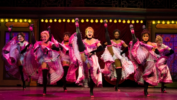 Megan Sikora (Claudine) and the girls of CAN-CAN