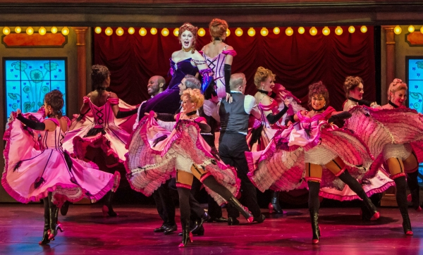 Photo Flash: First Look at Kate Baldwin, Jason Danieley and More in Paper Mill's Broadway-Bound CAN-CAN