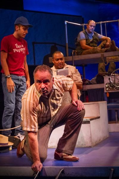 Jason Glick, Rafael Miguel, Bobby Bermea and Andres Alcala Photo
