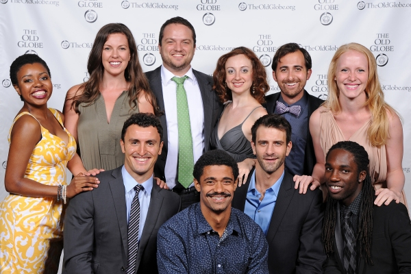 (clockwise, from far left) Makha Mthembu, Amy Blackman, Jake Millgard, Lindsay Brill, Tyler Kent, Ally Carey, Jamal Douglas, Patrick Zeller, Maxx Brawer, and Lowell Byers