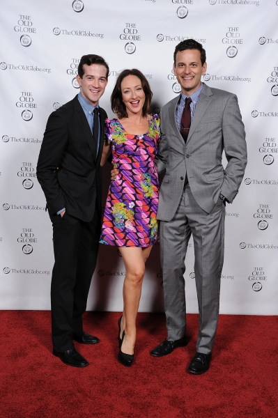 Cast members A.J. Shively, Carmen Cusack, and Wayne Alan Wilcox