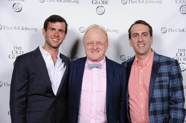 Musician Bennett Sullivan, musical supervisor Peter Asher, and musical director and v Photo