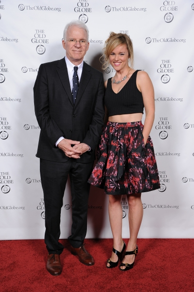 Co-creator Steve Martin and cast member Libby Winters
