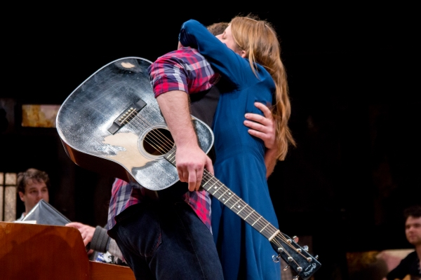 Photo Coverage: Original ONCE Star Marketa Irglova Performs With the Broadway Cast