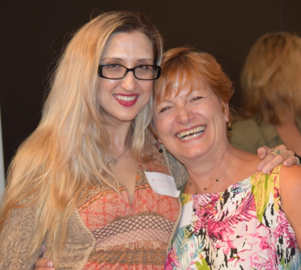 Katherine Elliot (LPTW Member), Frances McGarry (Actress/Networking Committee Member/ Photo
