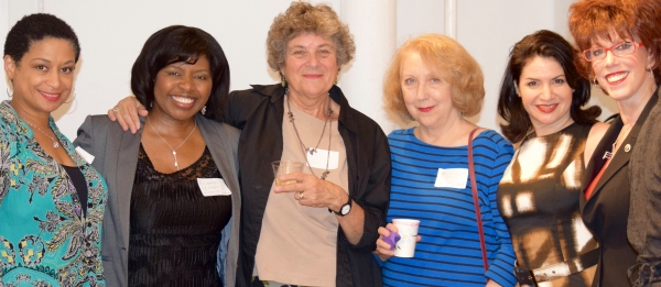 Melissa Maxwell (Director/Board Member), Richarda Abrams (Actress/Board Member/Networking Committee Co-Chair), Maxine Kern (Dramatist/LPTW Co-President),  Pamela Hunt (Director/LPTW Co-President), Romy Nordlinger (Actress/Board Member/Networking Committee