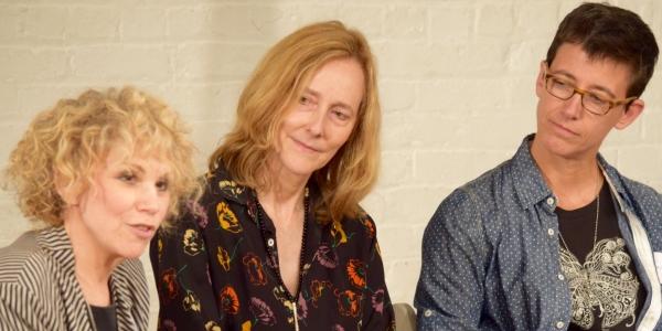 Carrie Robbins (Costume Designer/LPTW Member), Jo Bonney (Theatre Director), Rachel Hauck (Set Designer)