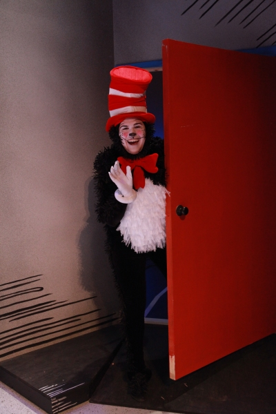 Noah Diaz as The Cat in the Hat