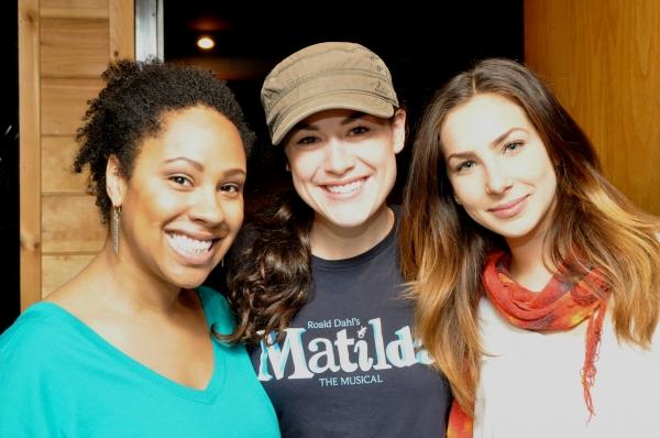 Marisa Kennedy, Alison Luff and Cassie Silva
