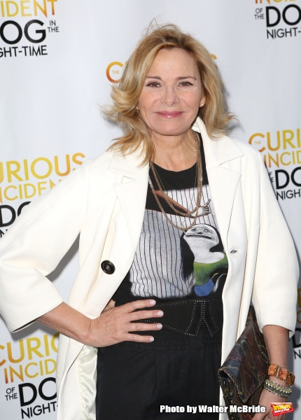 Kim Cattrall atre on October 5, 2014 in New York City.