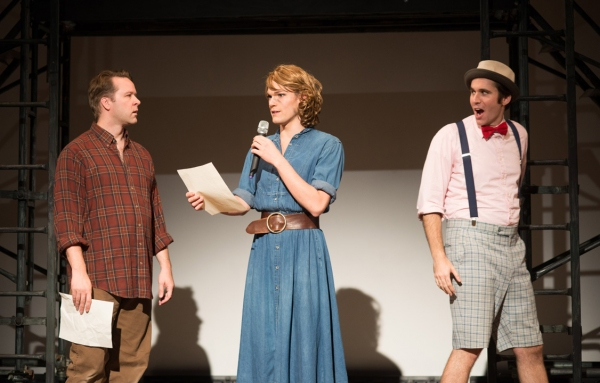 Matt Tallman (as Oliver), Andrew Betz (as Celia), Sean Close (as Touchstone) Photo