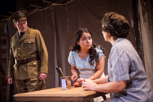 Shanon Weaver as ''Immigration Officer,'' Madison Palomo as Esperanza and Martinque Duchene-Phillips as Hortensia