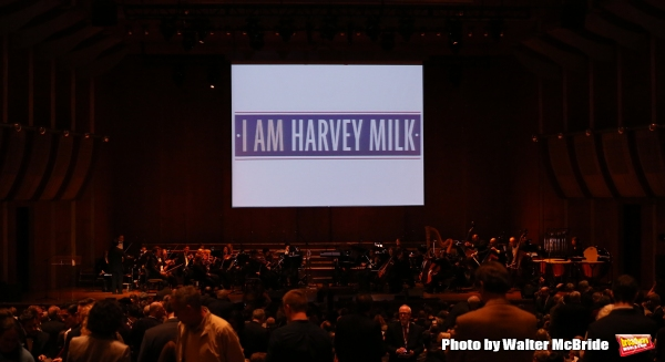 The One-Night-Only Benefit Concert  Premiere of ''I Am Harvey Milk'' at Avery Fisher Hall on October 6, 2014 in New York City.